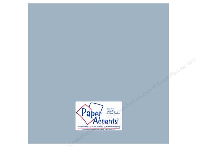 Cardstock 12 x 12 in. #18038 Smooth Summer Rain by Paper Accents (25 sheets)