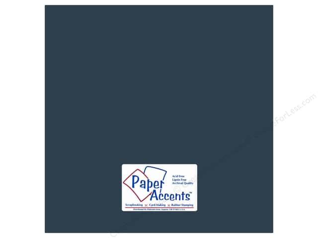 Cardstock 12 x 12 in. #18040 Smooth Blue Odyssey by Paper Accents (25 sheets)