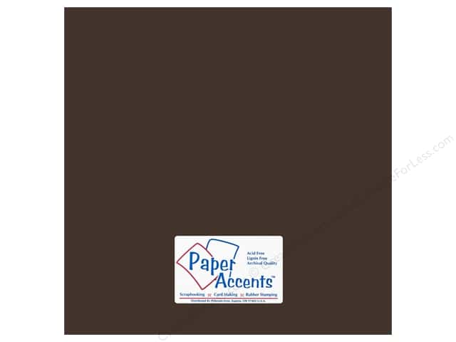Cardstock 12 x 12 in. #18076 Smooth London Fog by Paper Accents (25 sheets)
