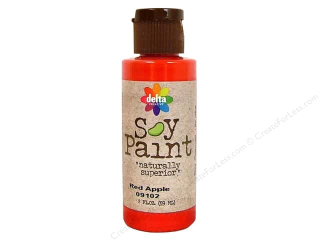 Delta Soy Paint 2oz Red Apple