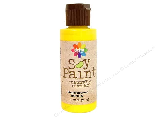 Delta Soy Paint 2oz Sunflower