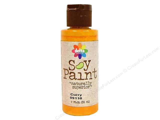 Delta Soy Paint 2oz Curry