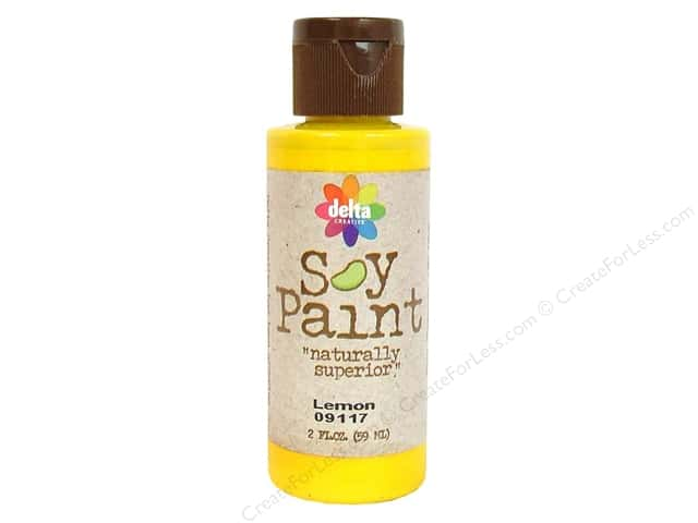 Delta Soy Paint 2oz Lemon