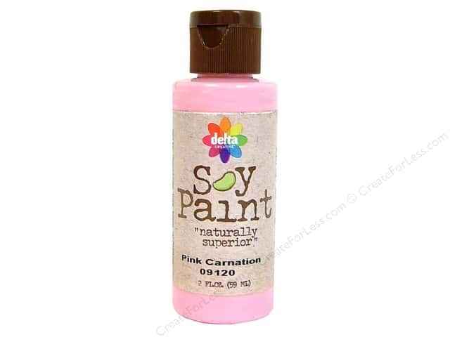 Delta Soy Paint 2oz Pink Carnation