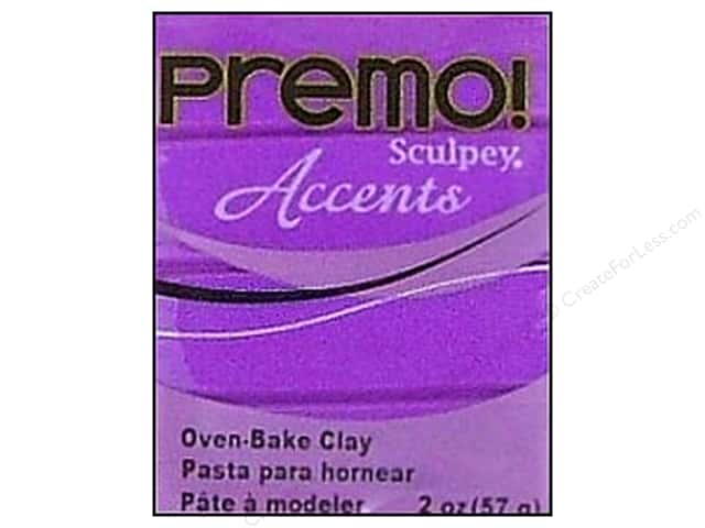 Premo! Sculpey Polymer Clay 2 oz. Purple Pearl