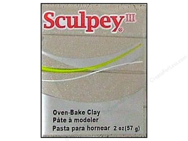 Sculpey III Clay 2oz Pewter