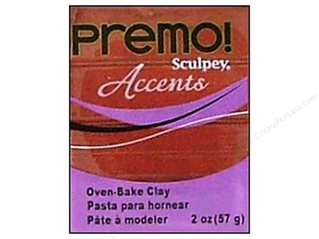 Premo Polymer Clay 2oz Bronze