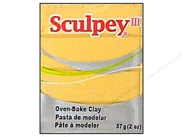 Sculpey III Clay 2oz Jewelry Gold