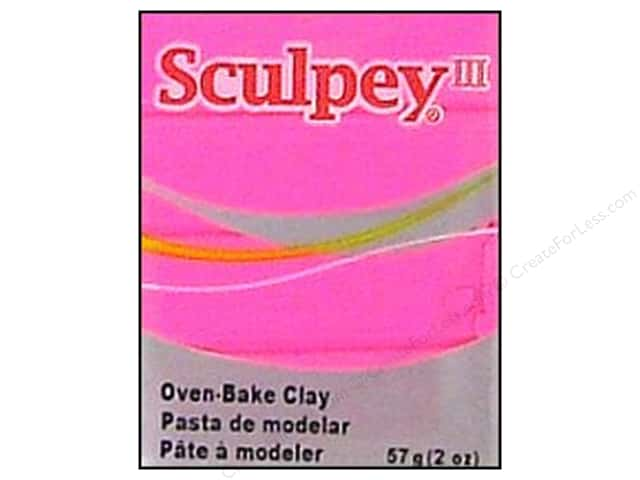 Sculpey III Clay 2 oz. Candy Pink