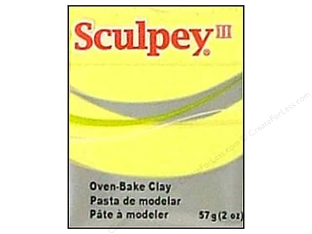 Sculpey III Clay 2 oz. Lemonade