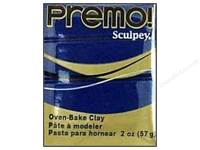 Premo Polymer Clay 2oz Navy Blue