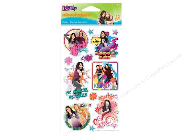 Nickelodeon Sticker Icarly Icons