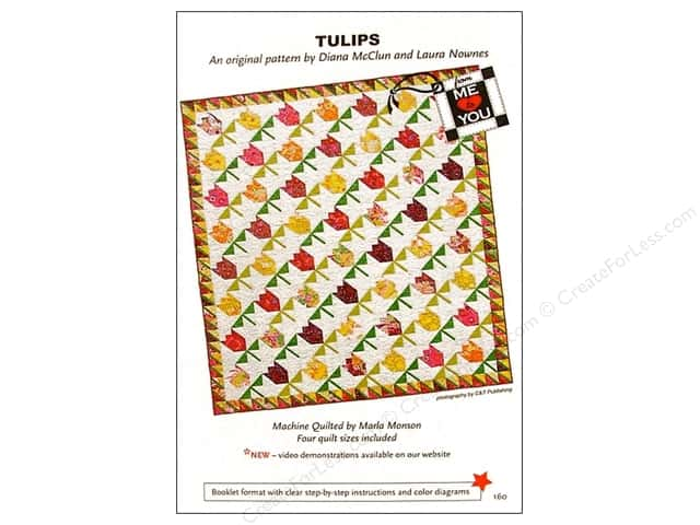 From Me to You Tulips Pattern
