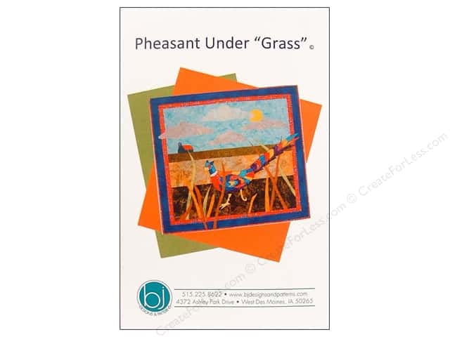 BJ Designs Pheasant Under Grass Pattern