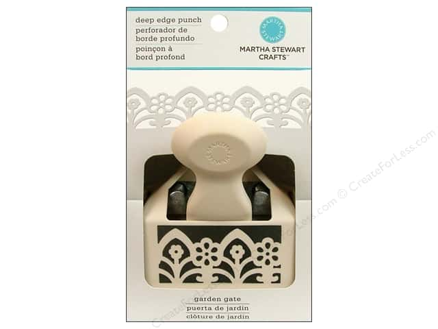 Martha Stewart Deep Double Edger Punch Garden Gate