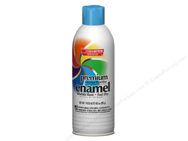 Chase Champion Premium Enamel Spray Paint 10.5 oz. Gloss Light Blue