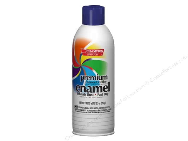 Chase Champion Premium Enamel Spray Paint 10.5 oz. Gloss Royal Blue