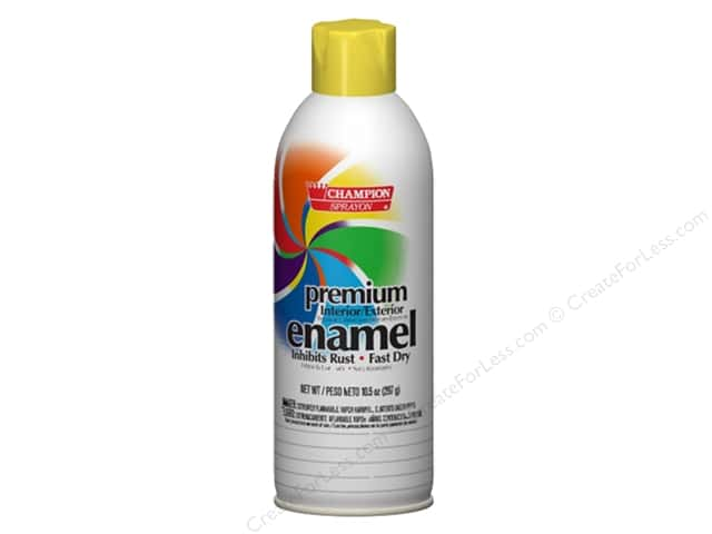 Chase Champion Premium Enamel Spray Paint 10.5 oz. Gloss Canary Yellow