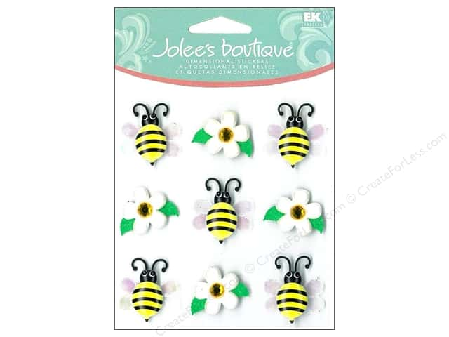 Jolee's Boutique Cabochons Bumble Bees