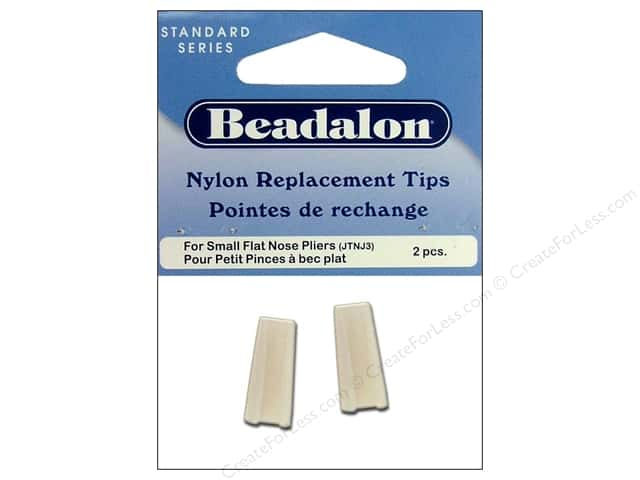 Beadalon Flat Nose Plier Replacement Tips 2 pc.