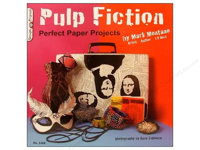 Design Originals Pulp Fiction - Perfect Paper Projects Book by Mark Montano