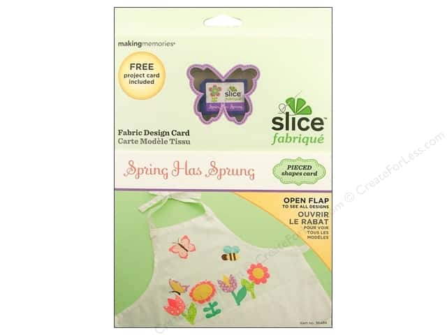 Slice Design Card Fabrique Spring Has Sprung