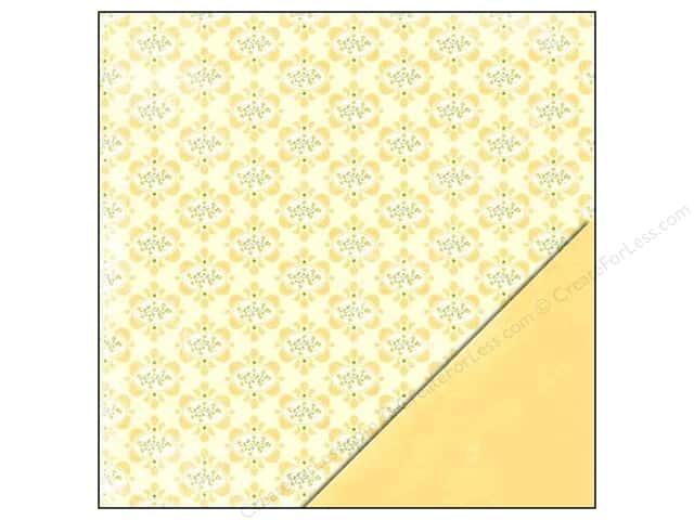 "Making Memories Paper 12""x 12"" Dilly Dally Brocade (25 sheets)"