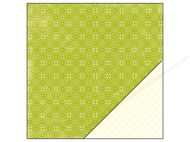 "Making Memories Paper 12""x 12"" Dilly Dally Geometric (25 sheets)"