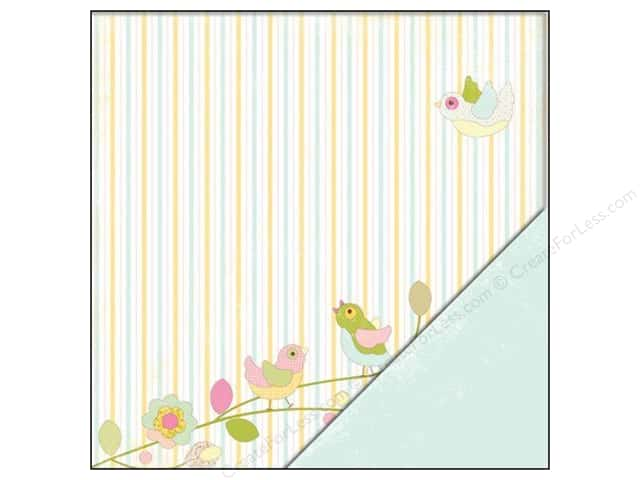 "Making Memories Paper 12""x 12"" Dilly Dally Birds (25 sheets)"