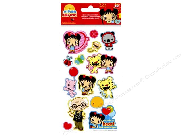 Nickelodeon Sticker Puffy Ni Hao Kai Lan