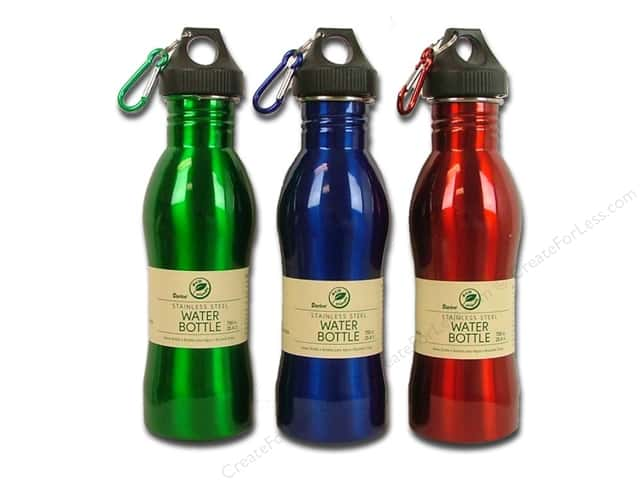Darice Water Bottle 25.4oz Stainless Steel Assorted