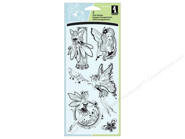Inkadinkado Clear Stamp Fairies