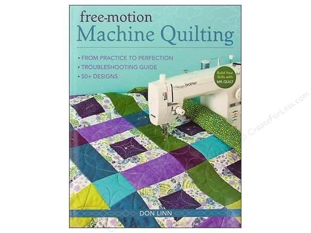 C&T Publishing Free Motion Machine Quilting Book by Don Linn