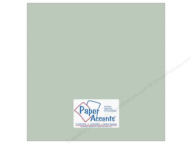 Cardstock 12 x 12 in. #18029 Smooth Sea Salt by Paper Accents (25 sheets)