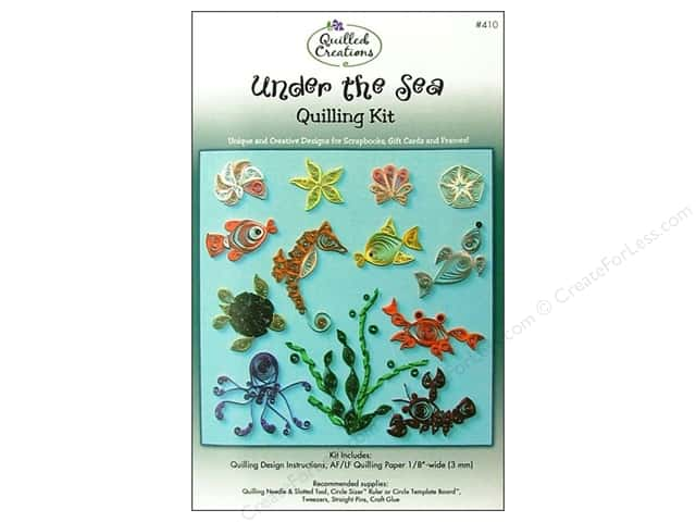 Quilled Creations Quilling Kit Under the Sea