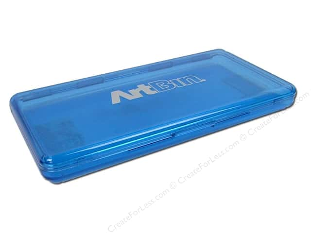 ArtBin Slimline Box Clear Blue