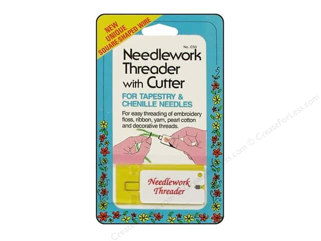 Needlework Threader with Cutter by Collins