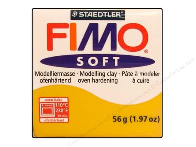 Fimo Soft Clay 56gm Sunflower