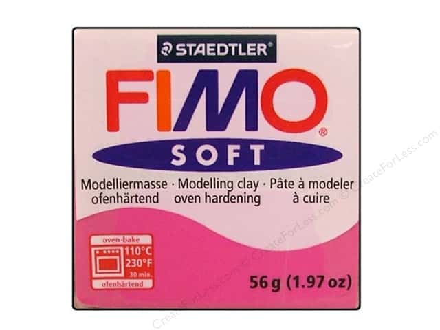 Fimo Soft Clay 56gm Raspberry