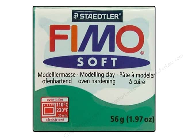 Fimo Soft Clay 56gm Emerald