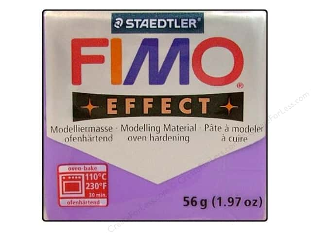 Fimo Soft Clay 56gm Transparent Purple