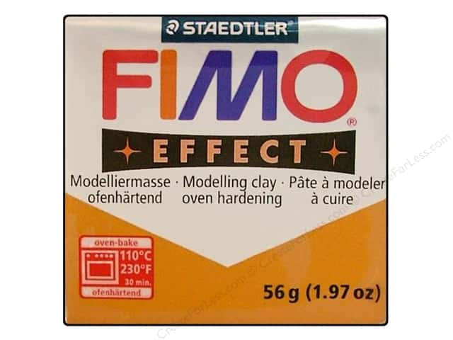Fimo Soft Clay 2 oz. Metallic Gold