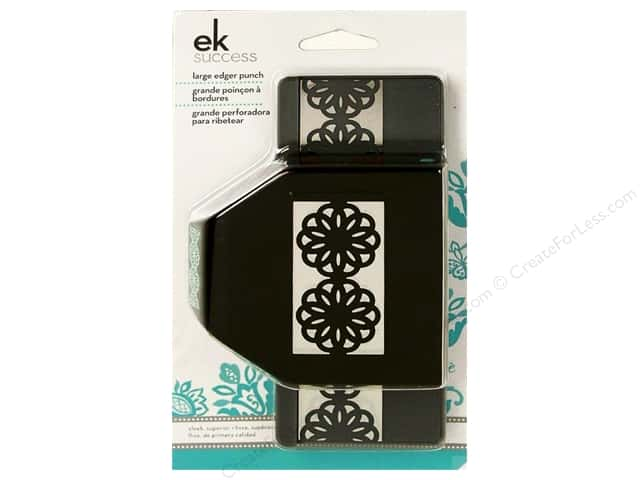 EK Paper Shapers Large Edger Punch Abstract Flower Chain