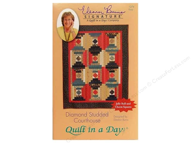 Quilt In A Day Diamond Studded Courthouse Pattern
