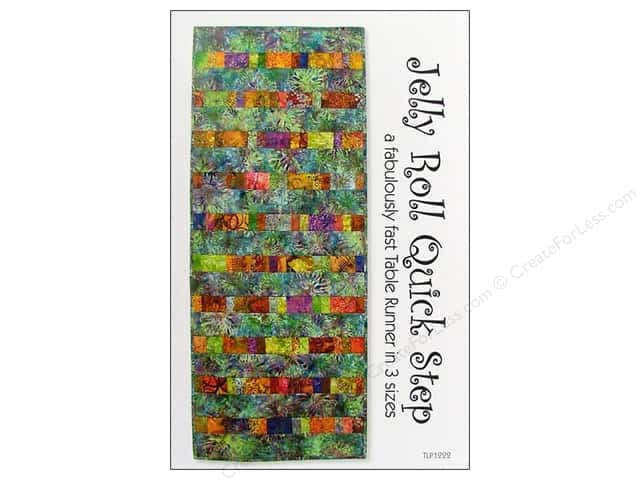 Tiger Lily Press Jelly Roll Quick Step Pattern