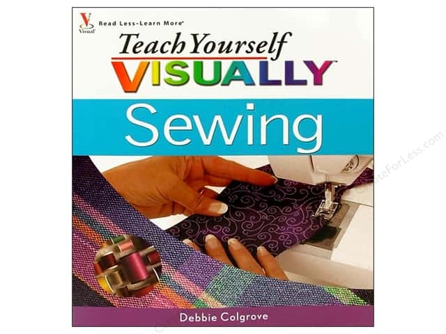 Wiley Publications Teach Yourself Visually Sewing Book