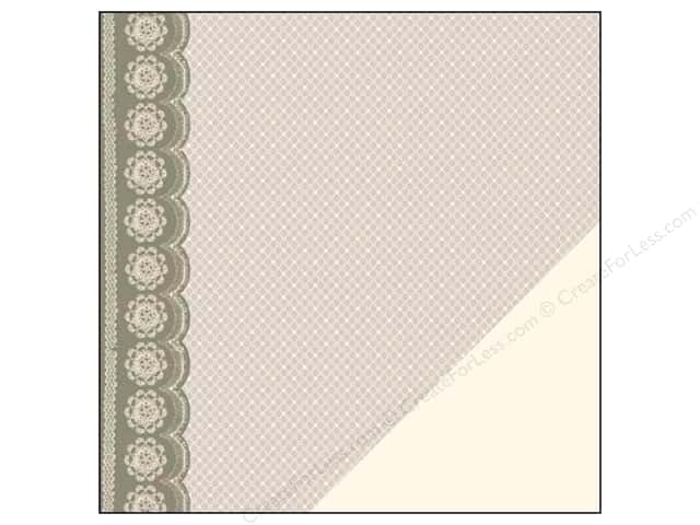 "Making Memories Paper 12""x 12"" Tie The Knot Lace Wedding (25 sheets)"