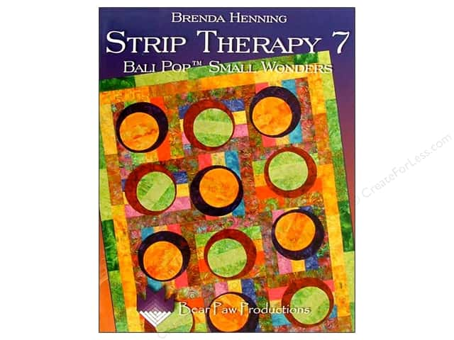 Bear Paw Productions Strip Therapy 7: Bali Pop Small Wonders Book by Brenda Henning