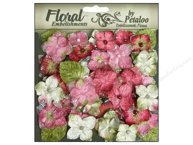 Petaloo FloraDoodles Chantilly Hydrangeas Rose