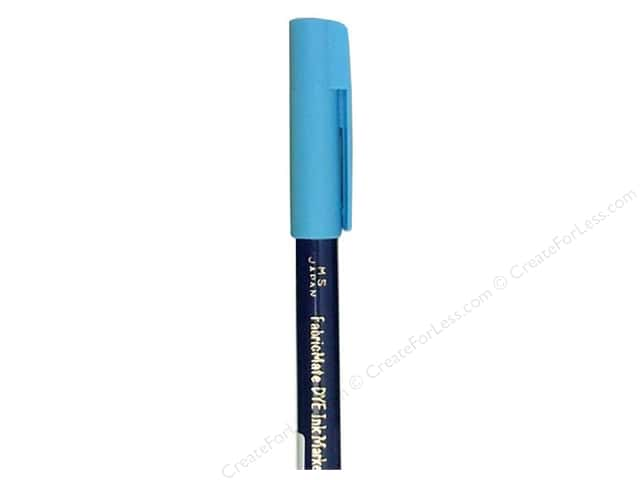 FabricMate Dye Markers Brush Tip Short Sky Blue (3 pieces)